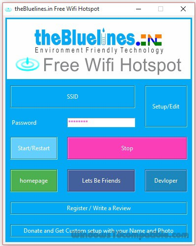 Baidu WiFi Hotspot 5.1.4 is available to all software users as a free download for Windows 10 PCs but also without a hitch on Windows 7 and Windows 8. Compatibility with this wireless hotspot software may vary, but will generally run fine under Microsoft Windows 10, Windows 8, Windows 8.1, Windows 7, Windows Vista and Windows XP on either a 32-bit or 64-bit setup.